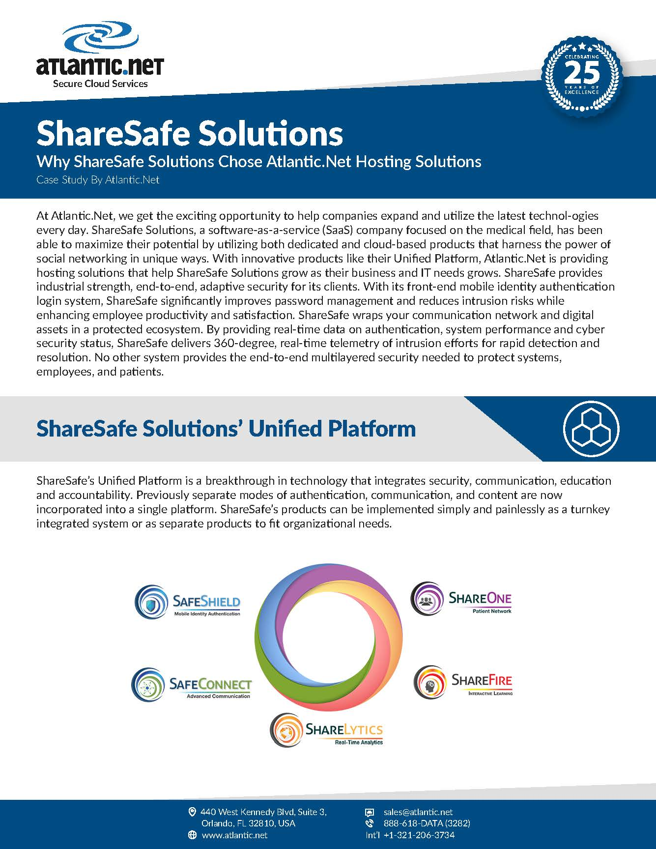 ShareSafe Solutions Chose Atlantic.Net
