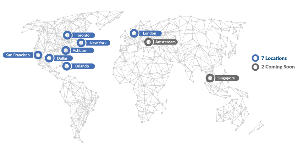 International Cloud Data Center Locations