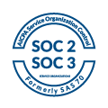SOC2 and SOC3 Certified