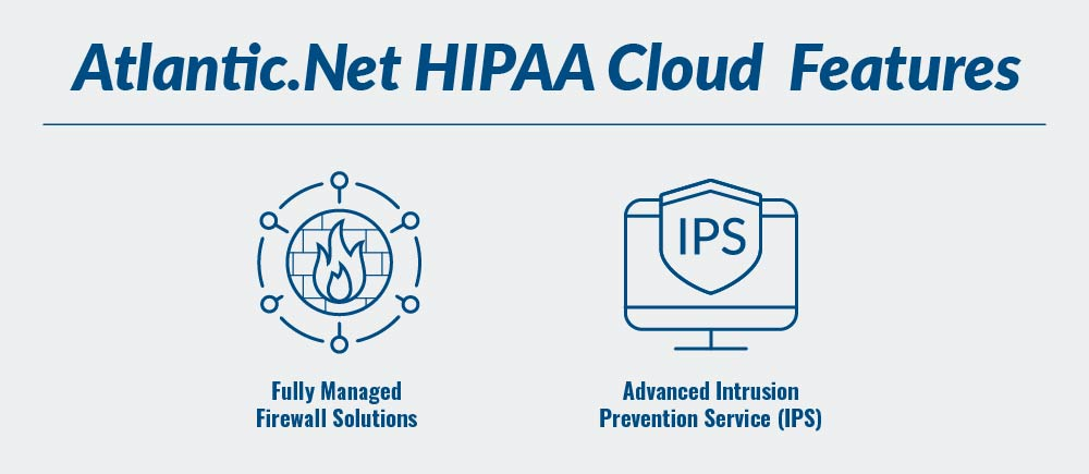 Atlantic.Net's HIPAA Compliant Cloud Features