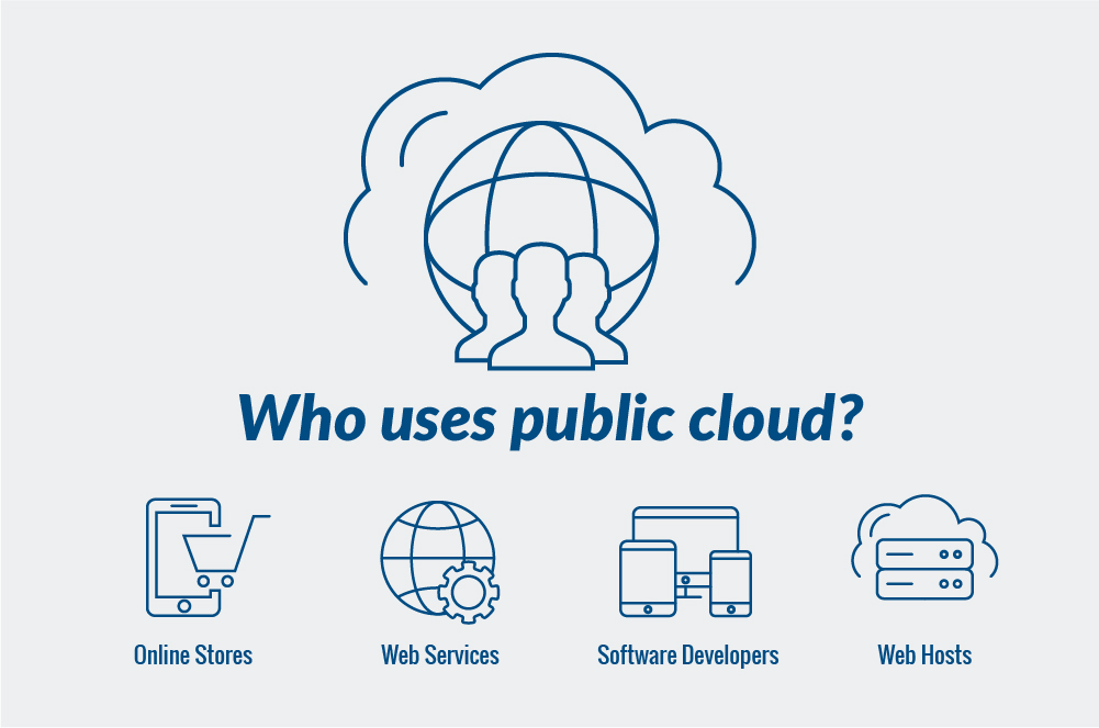 Users of Public Cloud Hosting