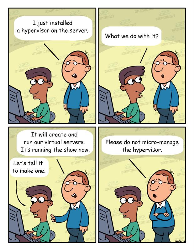 hosting humor hypervisor VPS