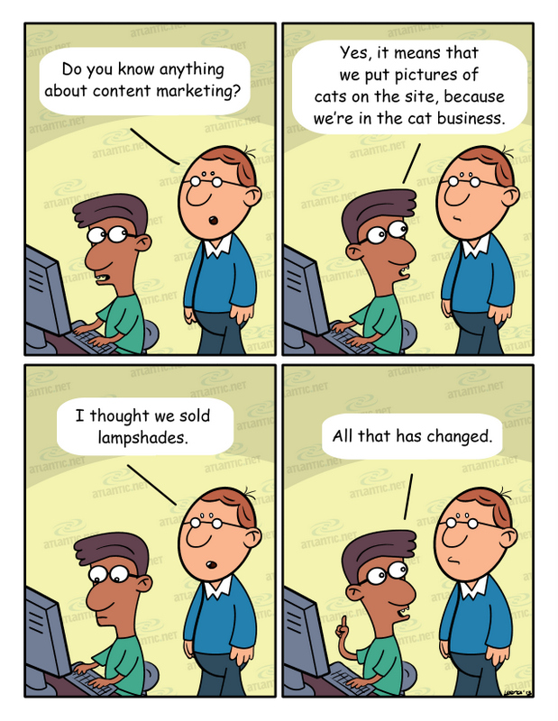 What do we get wrong about content marketing?