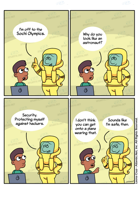 Sochi security joke