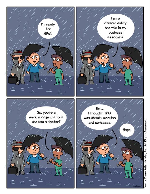 HIPAA misunderstanding joke