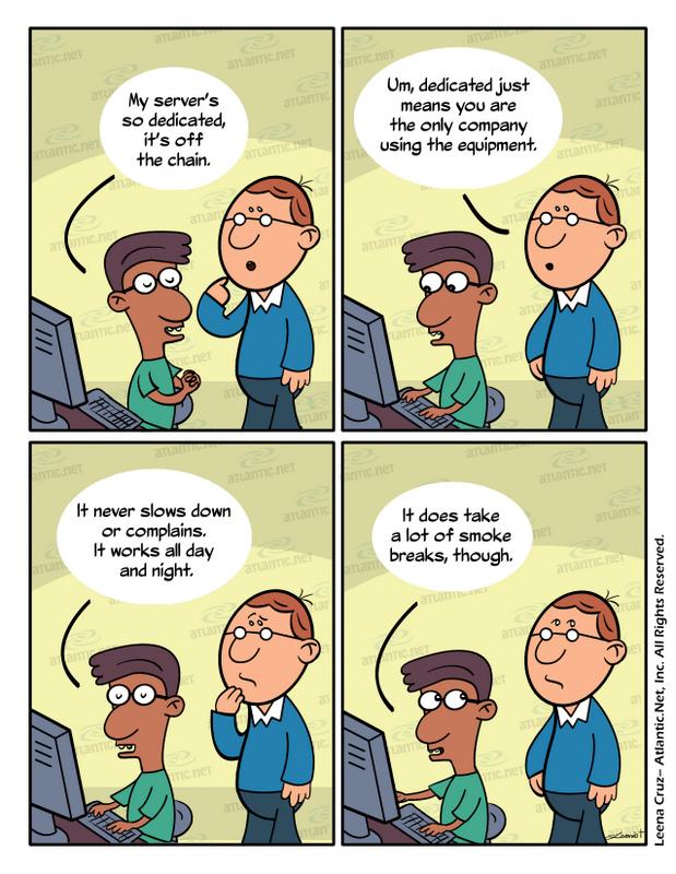 server comic