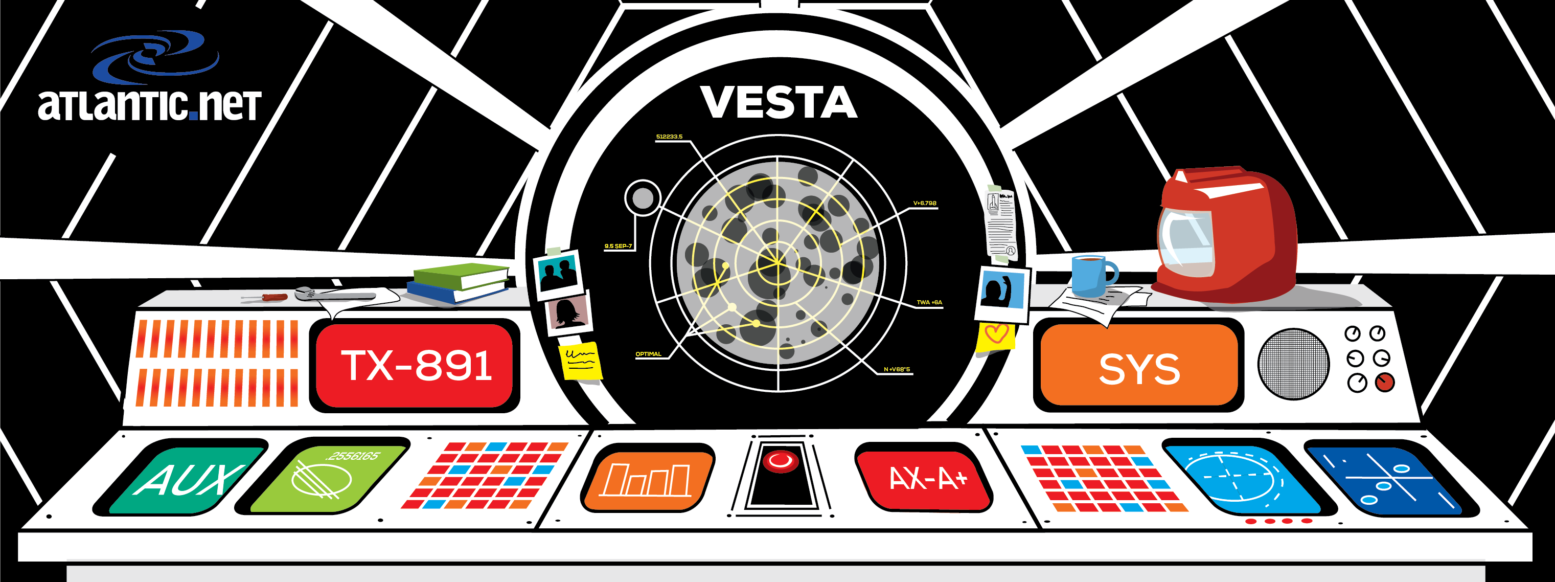 Vesta Control Panel Illustration by Walker Cahall