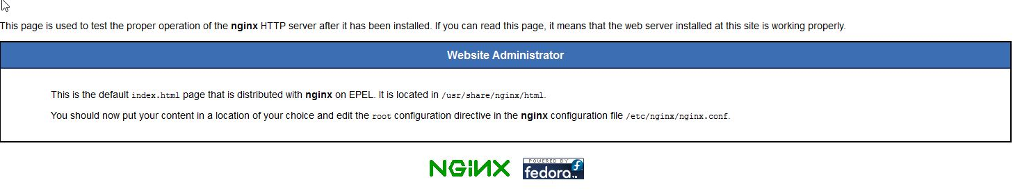 Sample Nginx Default Webpage
