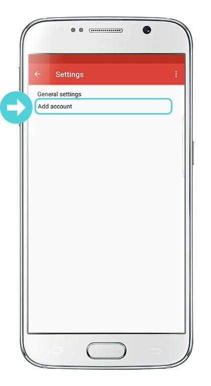 Gmail app imap
