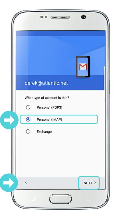 Gmail app imap 6