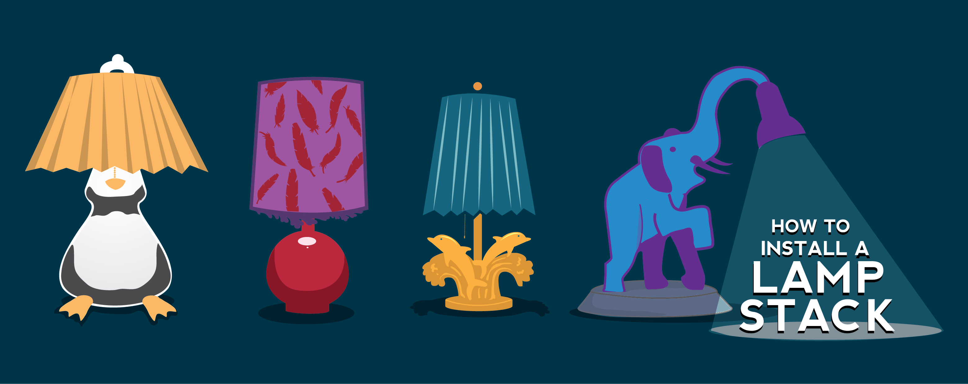 LAMP Illustration by Walker Cahall http://www.waltronic.net/
