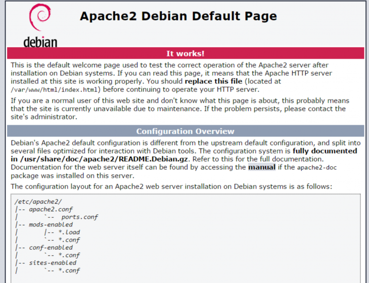 Installing Linux, Apache, MySQL, PHP (LAMP) On Debian 8 On A Cloud Server Or VPS 04