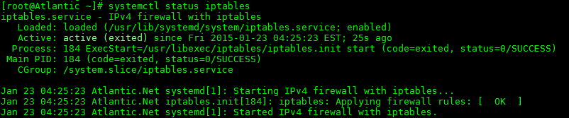 anet - Use iptables instead of firewalld - 1