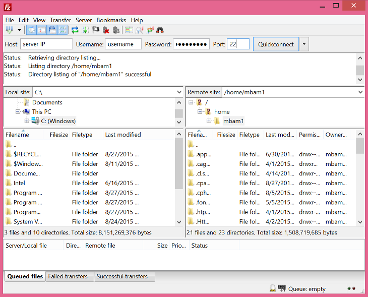 How To Upload Files with FileZilla | Atlantic Net