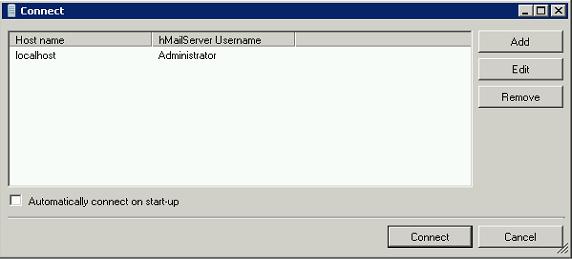 HMailServer Admin