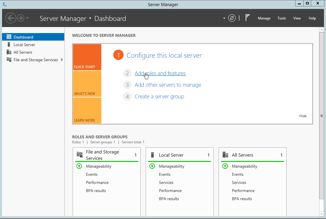 How to Install IIS on Windows Server 2012 R2 | Atlantic Net
