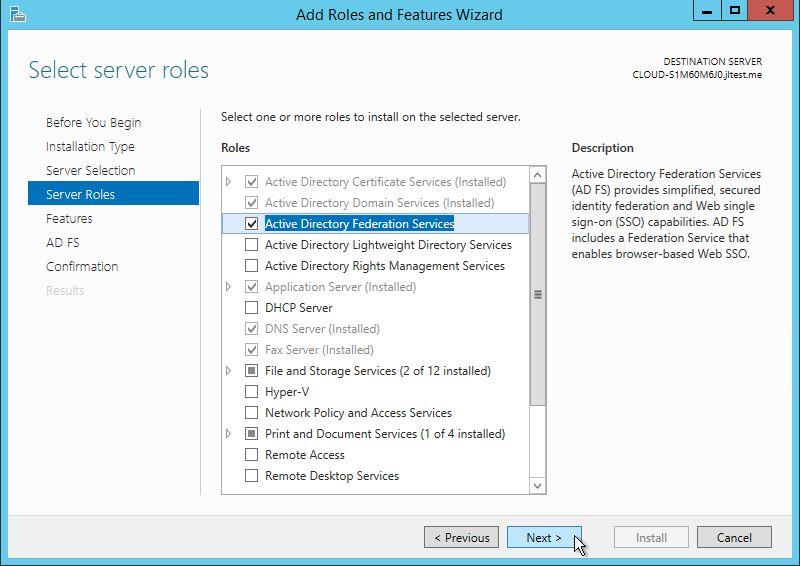 Install Active Directory Lightweight Directory Services Windows Server 2012-1