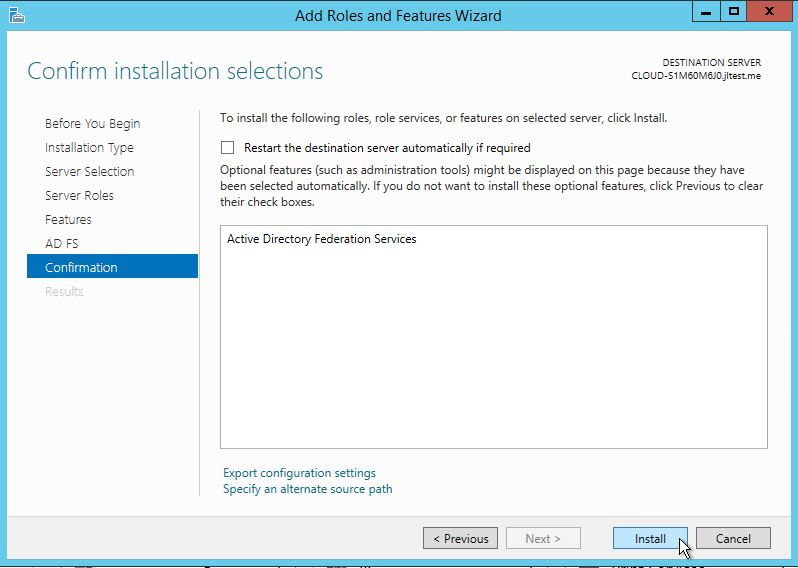 Install Active Directory Lightweight Directory Services Windows Server 2012-2