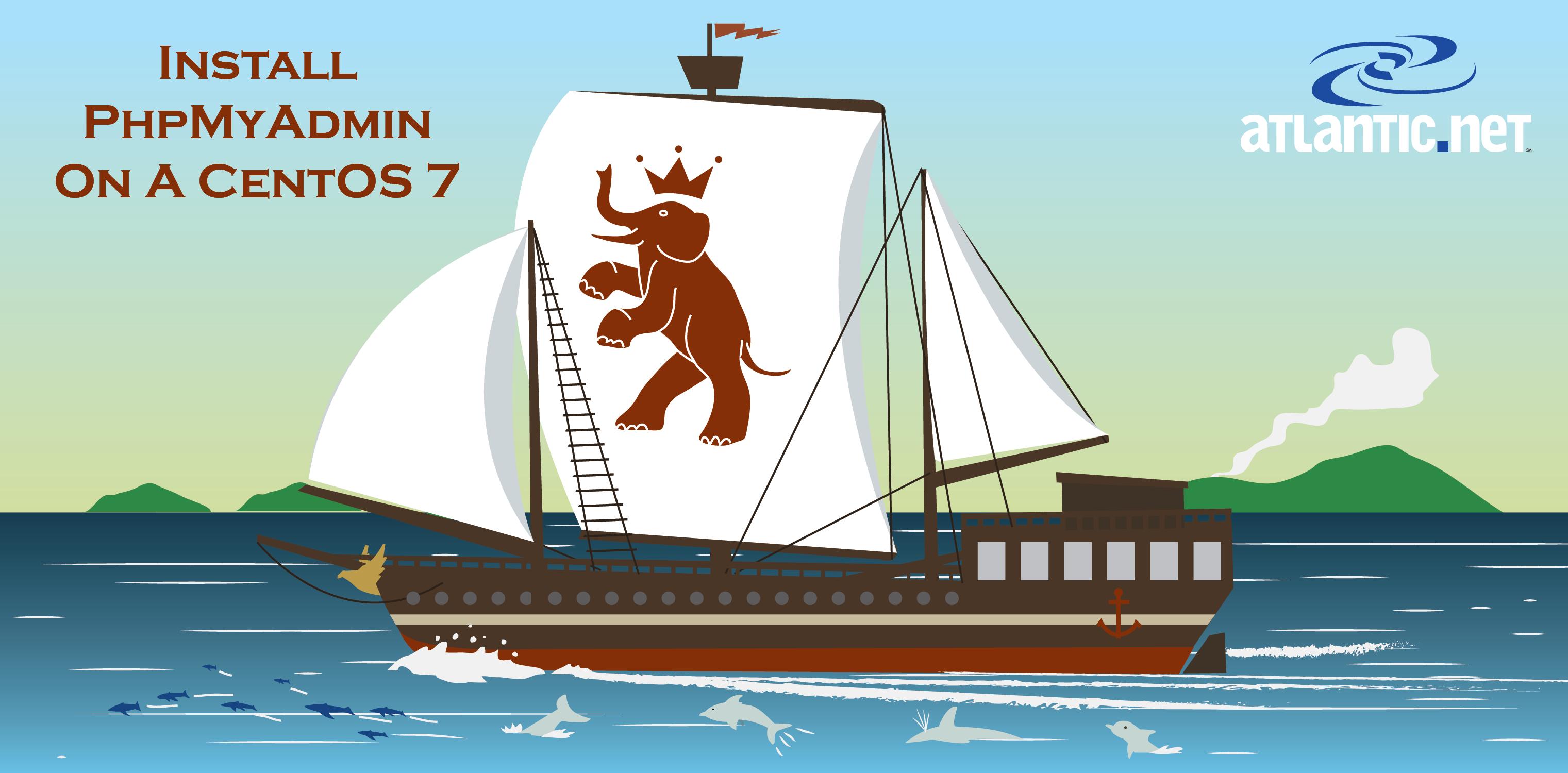 phpMyAdmin Ship Illustration by Walker Cahall