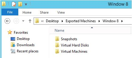 Cloning/Exporting a VM in Windows Server 2012-3