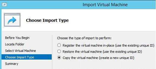 Importing a Cloned VM in Windows Server 2012-4