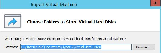 Importing a Cloned VM in Windows Server 2012-6