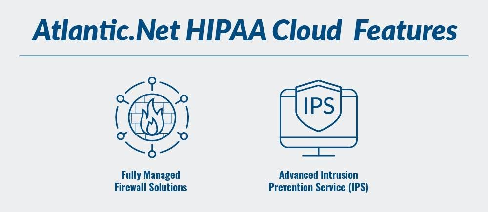 HIPAA Compliant Cloud Features